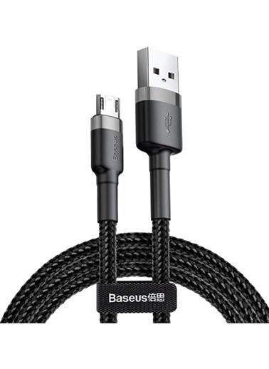 Baseus Cafule Micro Usb Kablo 2 Metre 1.5A - Siyah Camklf-Cg1 Renkli